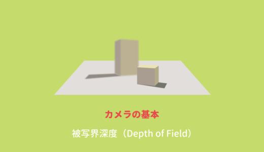 CGの表現としては定番の被写界深度(Depth-of-field)とは
