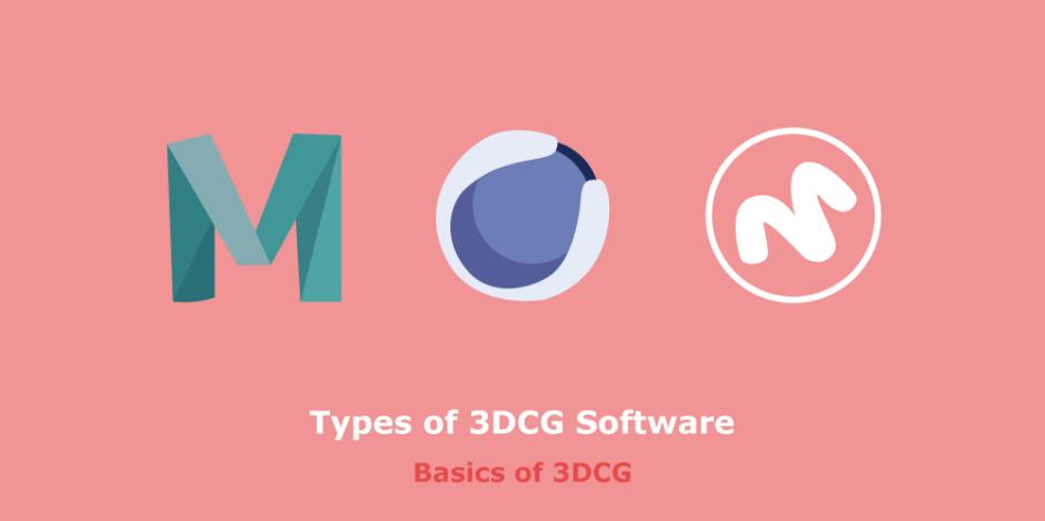 Types of 3dcg