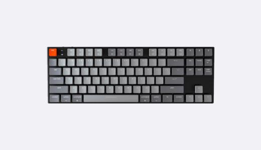 Win&Mac、無線&有線で使えるキーボードKeychron K1レビュー