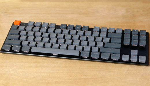 Win&Mac、無線&有線で使えるキーボードKeychron K1